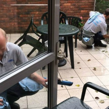 Door Cleaning | Anglian Window Cleaning